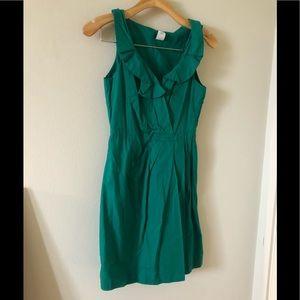 JCrew Green Dress size 0